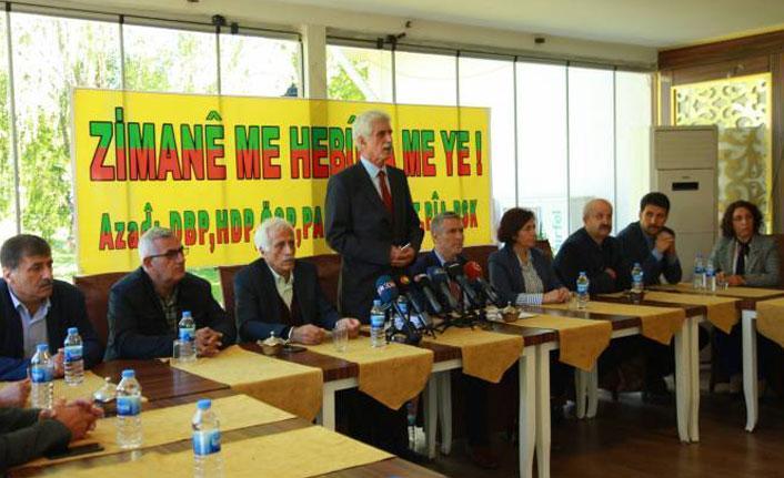 9 Kürt partisi 'Dil Çalıştayı'nda buluşuyor