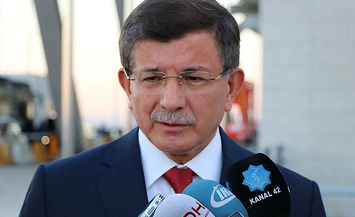 Davutoğlu ve ihracı istenen 3 eski vekilden basın toplantısı