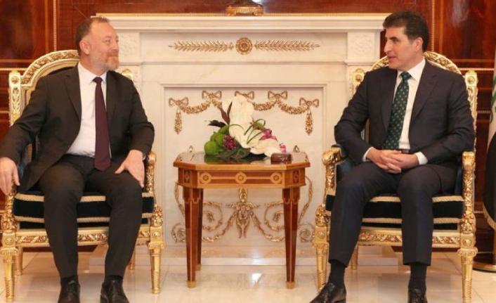 HDP heyeti IKBY Başkanı Neçirvan Barzani ile görüştü: Barış için fırsatlar kaybedilmemeli