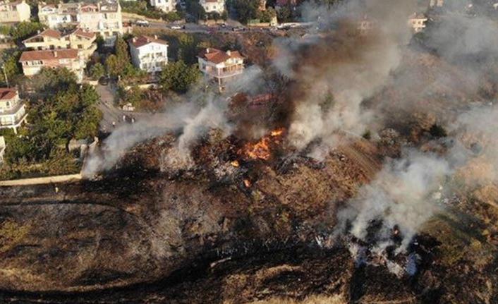 İstanbul Beylikdüzü'nde yangın