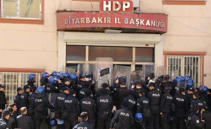 HDP'nin Diyarbakır il ve ilçe örgütleri hakkında soruşturma