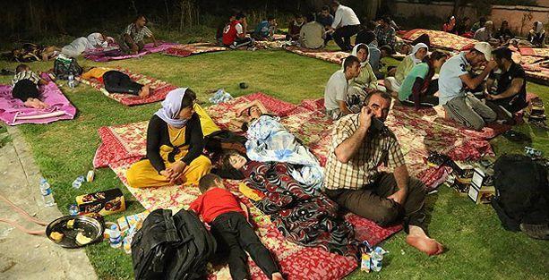 '250 Ezidi çocuk açlıktan yediği zehirli otla öldü' iddiası