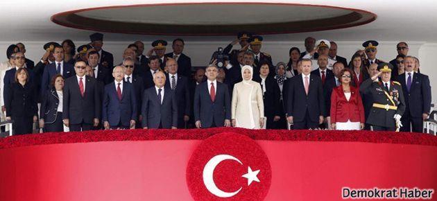 30 Ağustos töreninde 'Gezi' sloganları