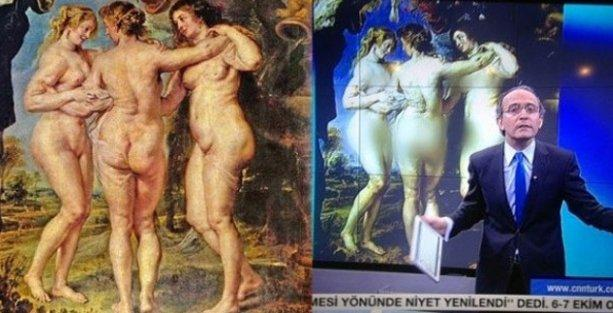 370 yıllık tabloya RTÜK sansürü!