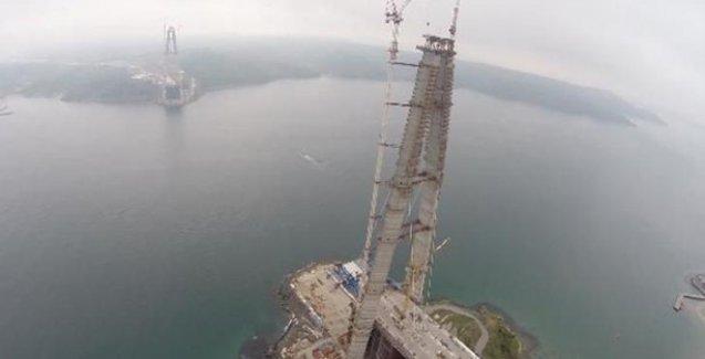 '3. Köprü artık 2 beton kuleden ibaret'