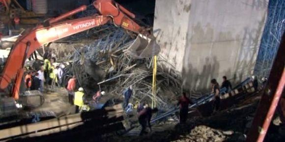 3. köprü inşaatında göçük: 3 işçi öldü!