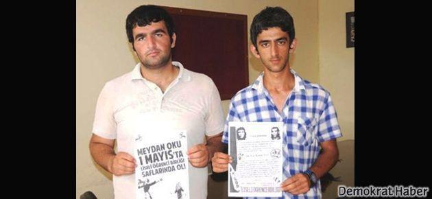 3 liseli 1 Mayıs bildirisi dağıttığı için okuldan atıldı