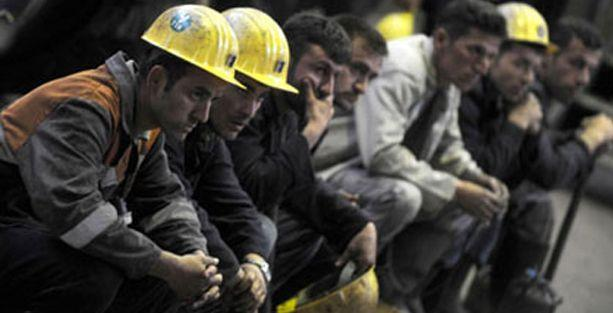 500 maden işçisi Valiliğe yürüyor