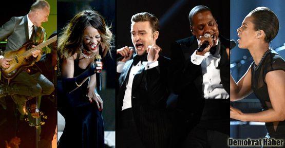 55. Grammy ödülleri sahiplerini buldu