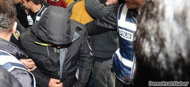 8 kişi tutuklandı, 50 kişi Adliye'ye sevk edildi