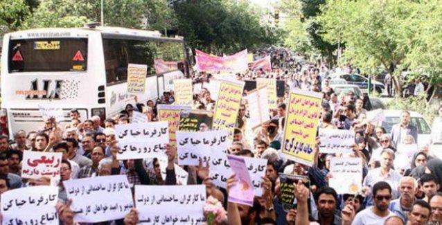 8 yılın ardından İran'da 1 Mayıs kutlandı