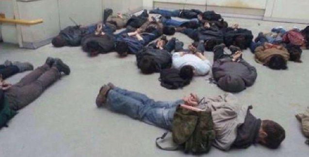 9 saat ters kelepçeyle bekletilen öğrenciler anlattı: Ölürüm Türkiyem'i dinlettiler!