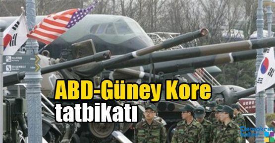 ABD-Güney Kore tatbikatı