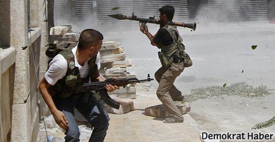 ABD Suriyeli muhalifleri eğitiyor