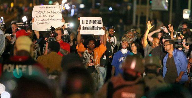 ABD'de göstericiler sokaktan çekilmedi