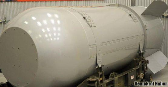 ABD'den dünyanın en büyük bombası