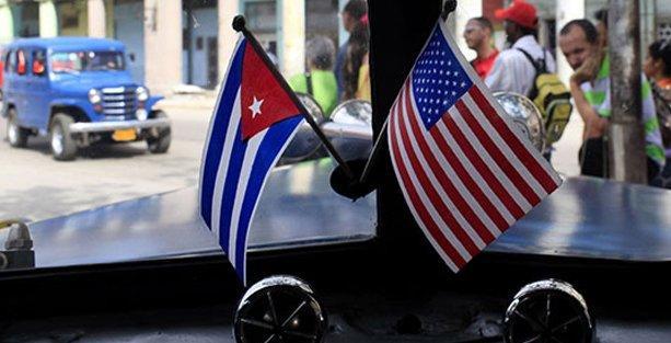 'ABD'nin Küba üzerindeki blokajının kalkması halkın ve Fidel Castro'nun zaferi'