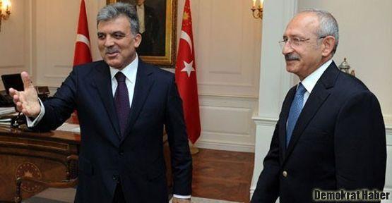 Abdullah Gül ve Kılıçdaroğlu Erdoğan'a karşı