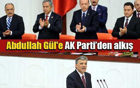 Abdullah Gül'e AK Parti'den alkış