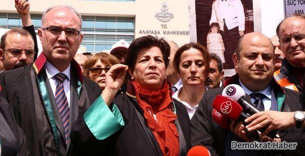 'Adalet Nöbeti'ndeki avukatlar Kılıç'la görüştü
