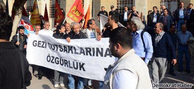 Adana'da Gezi direnişçileri mahkemede