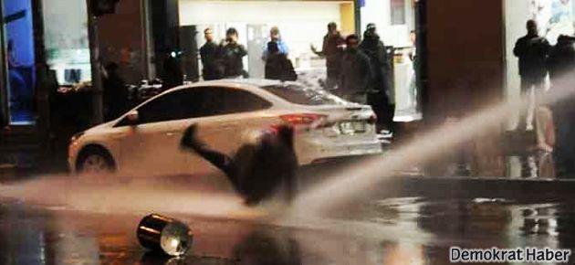 Adana'da yolsuzluk eylemine polis saldırısı
