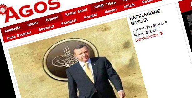 Agos, 'Erdoğan sempatizanları' tarafından hacklendi