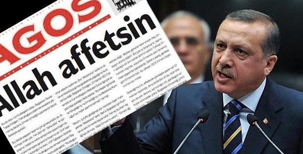 Agos'tan Erdoğan'a: Allah affetsin