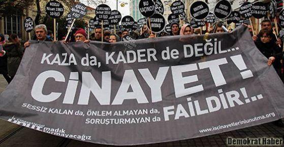 Ağustos ayında 147 iş cinayeti
