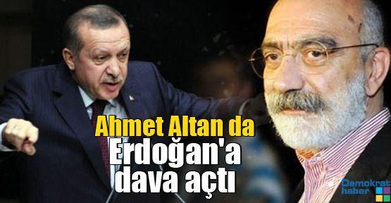 Ahmet Altan da Erdoğan'a dava açtı
