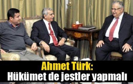 Ahmet Türk: Hükümet de jestler yapmalı
