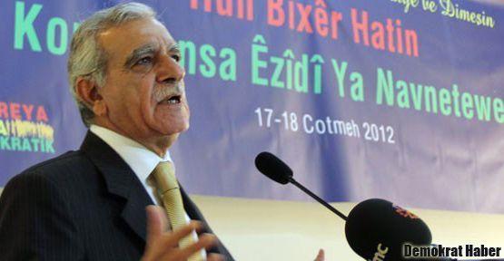 Ahmet Türk: Dedelerimizin elinde Ezidilerin kanı var!