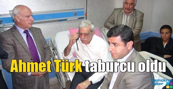 Ahmet Türk taburcu oldu
