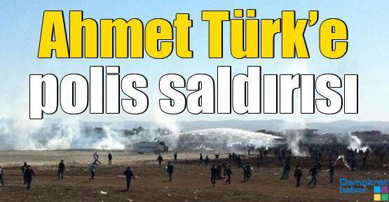 Ahmet Türk'e polis saldırısı