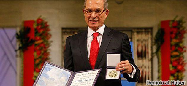 Ahmet Üzümcü Nobel Barış Ödülü'nü aldı