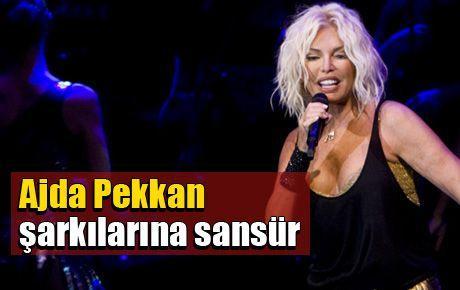Ajda Pekkan şarkılarına sansür