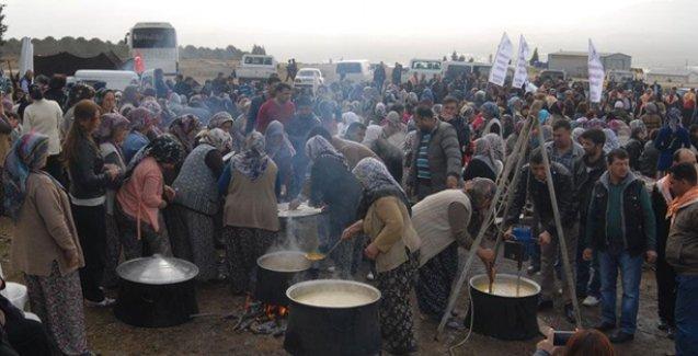 Akalan köylülerinin taş ocağına karşı direnişi devam ediyor