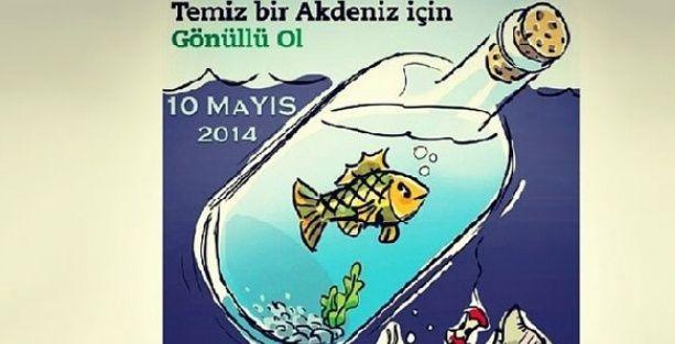 Akdeniz'i ünlüler temizleyecek