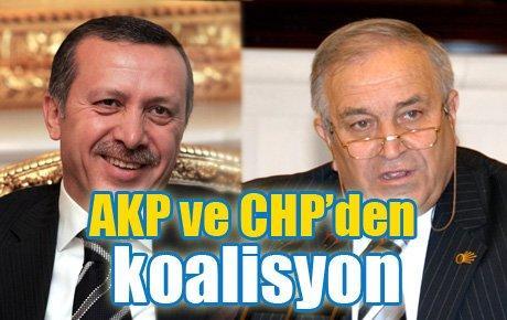 AKP ve CHP'den koalisyon