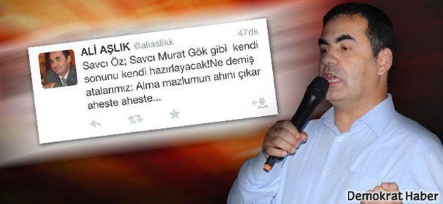 AKP'li vekilden Savcı Öz'e: Sonunu hazırlayacak