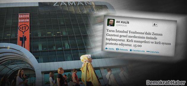 AKP'lilerin Zaman yürüyüşüne erteleme
