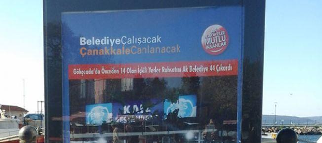 AKP'nin 'içkili mekan' reklamlı seçim kampanyası