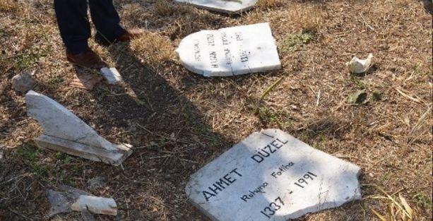 Alevi mezarları tahrip edildi!
