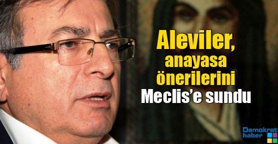 Aleviler, anayasa önerilerini Meclis'e sundu
