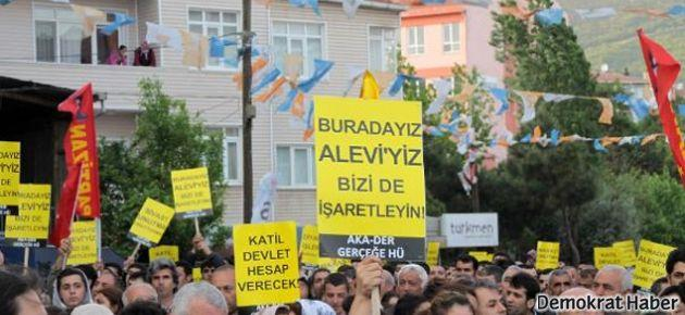 Aleviler antidemokratik politikalara karşı sokaklara çıkıyor