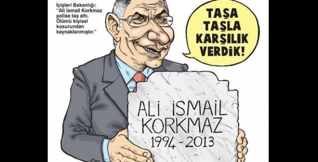 Ali İsmail için 'Polise taş attı, ölümü kendi kusuru' diyen bakanlık Gırgır'da