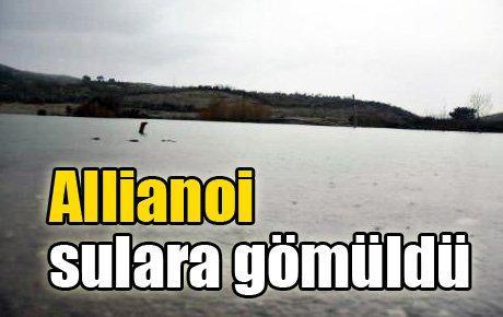 Allianoi sulara gömüldü