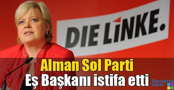 Alman Sol Parti Eş Başkanı istifa etti