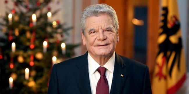 Almanya Cumhurbaşkanı Joachim Gauck da soykırım dedi