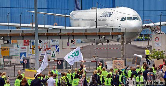 Almanya havalimanlarında grev